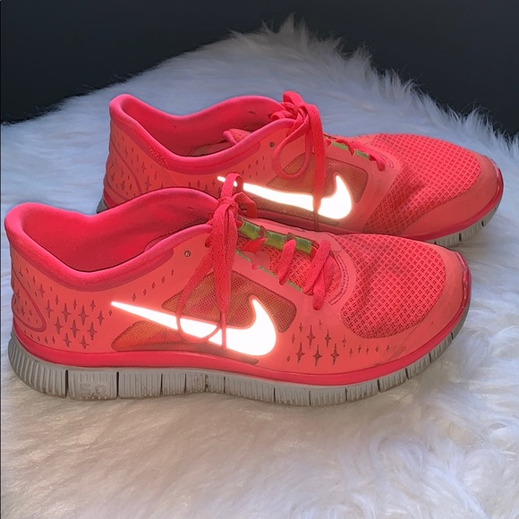Nike Free Run 3 Neon Pink
